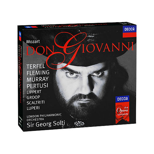 Sir Georg Solti Mozart Don Giovanni (3 CD) Серия: The Opera Company артикул 3200a.